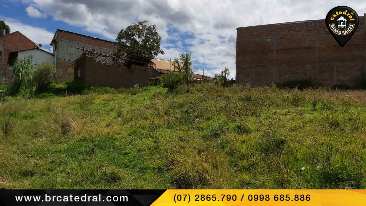 Land for Sale in Cuenca Ecuador sector Quinta Chica
