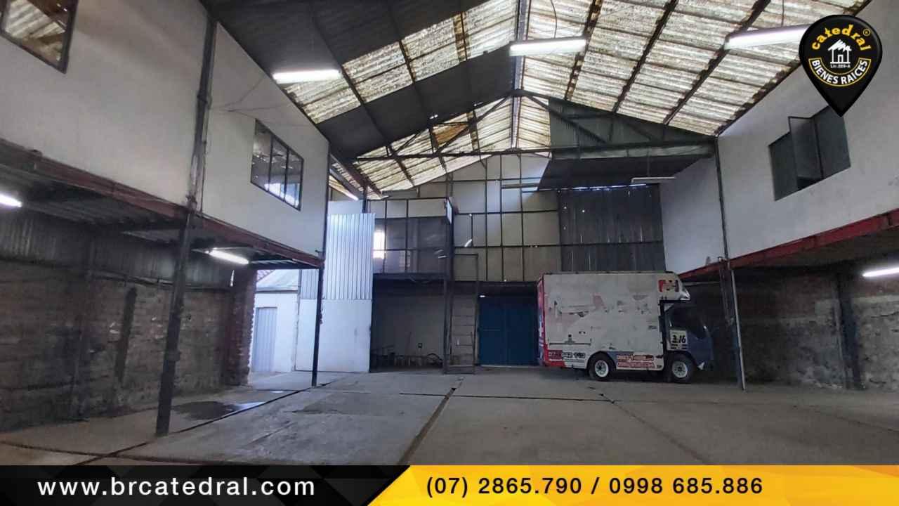 Nave Industrial de Alquiler en Cuenca Ecuador sector Av. las Americas