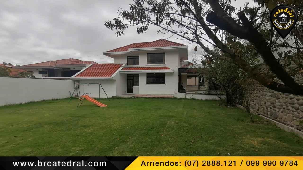 House for Rent in Cuenca Ecuador sector Misicata