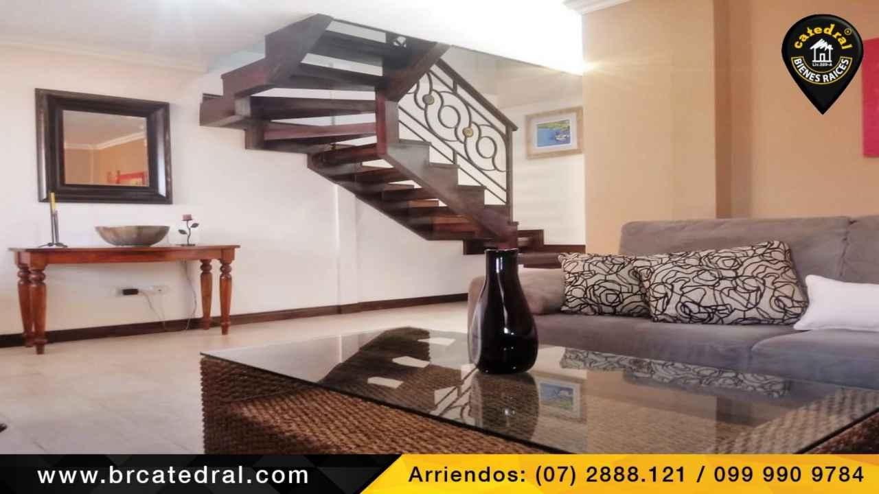 Apartment for Rent in Cuenca Ecuador sector 12 de Octubre - Primero de Mayo