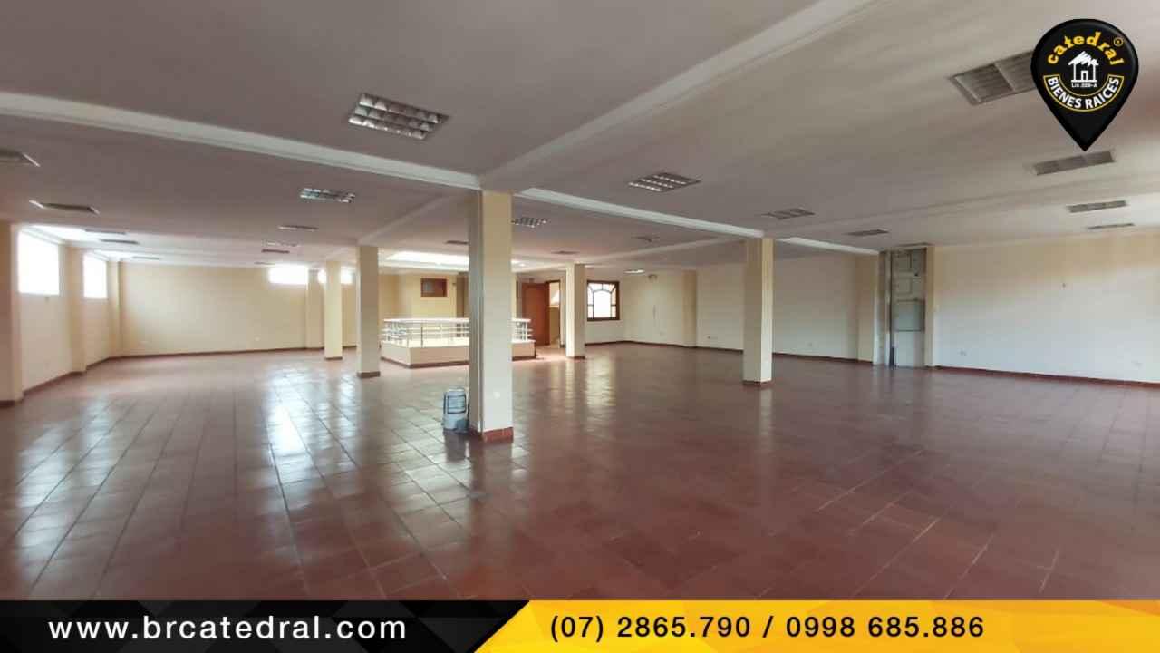 Local Comercial/Oficina/Edificio de Alquiler en Cuenca Ecuador sector Centro