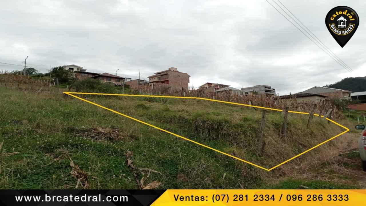Land for Sale in Cuenca Ecuador sector Baños
