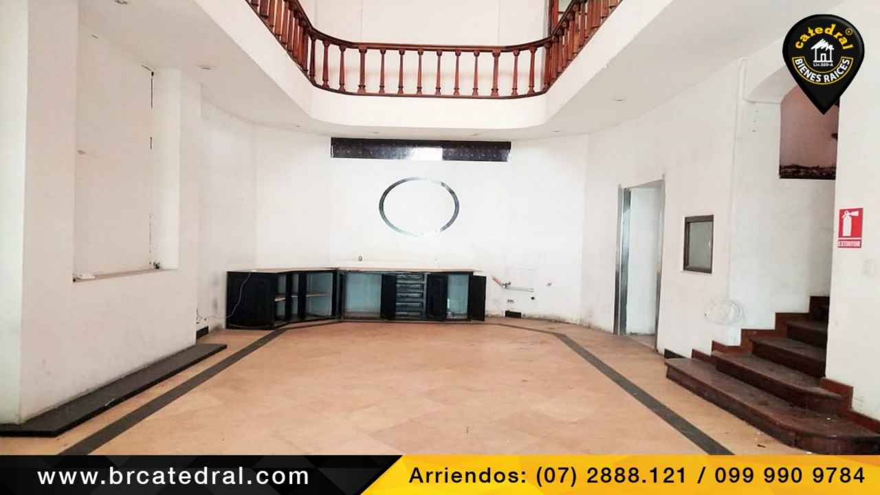 Commercial property for Rent in Cuenca Ecuador sector CENTRO HISTÓRICO DE CUENCA