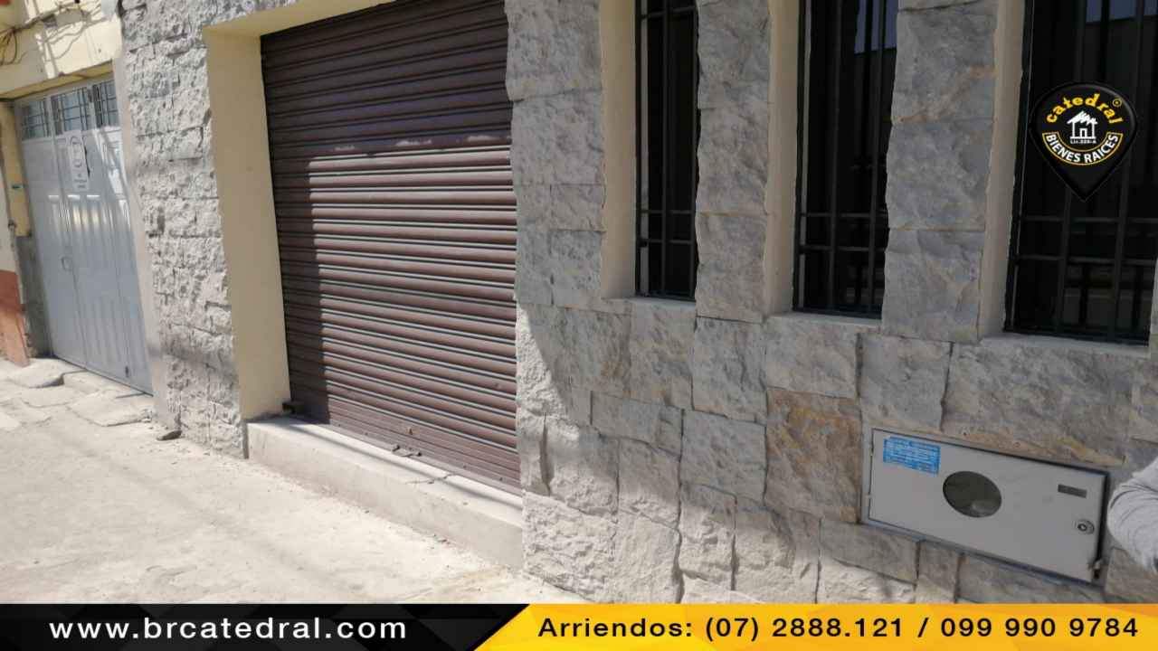 Commercial property for Rent in Cuenca Ecuador sector HuaynaCapac