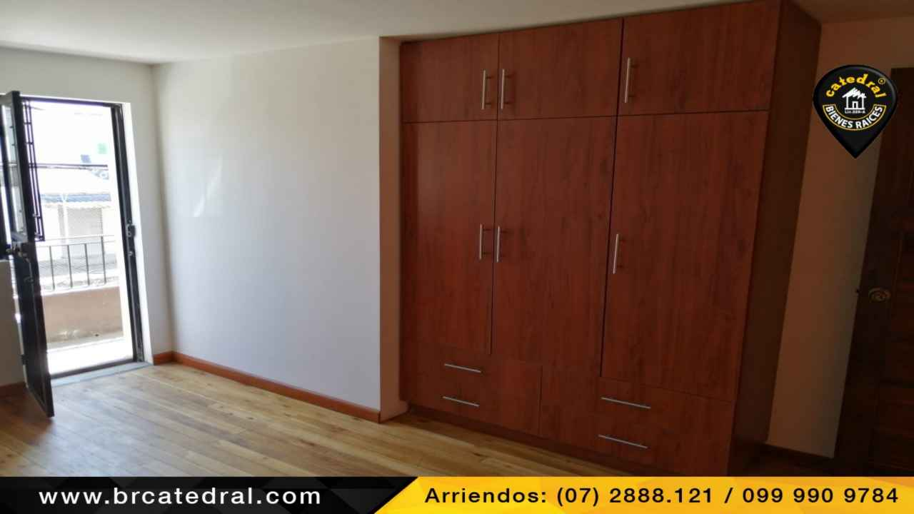 Apartment for Rent in Cuenca Ecuador sector HuaynaCapac - Gonzalez Suarez