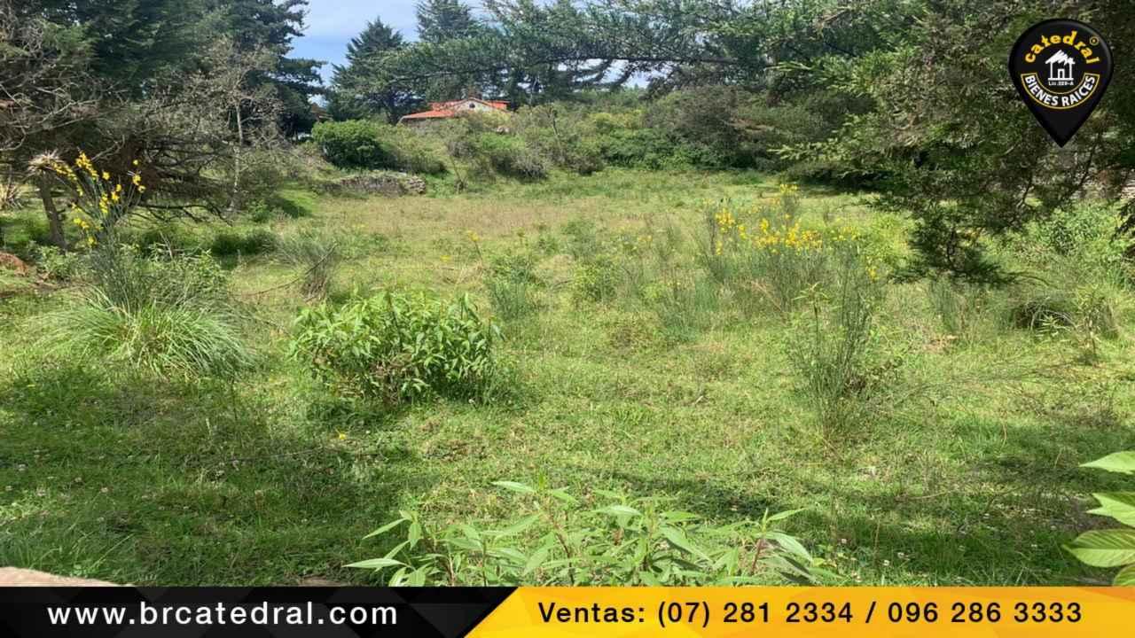 Land for Sale in Cuenca Ecuador sector Panamericana Norte - Via Jadan - Las minas