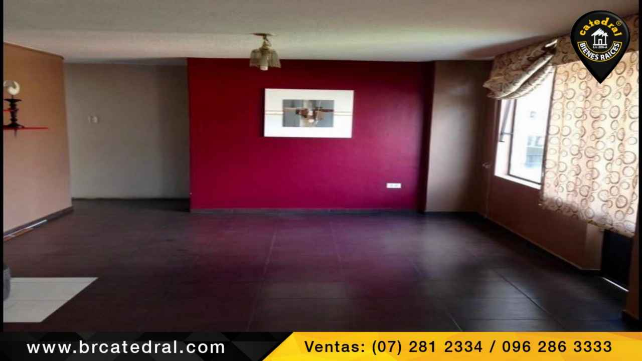 Apartment for Sale in Cuenca Ecuador sector Av. Fray Vicente Solano