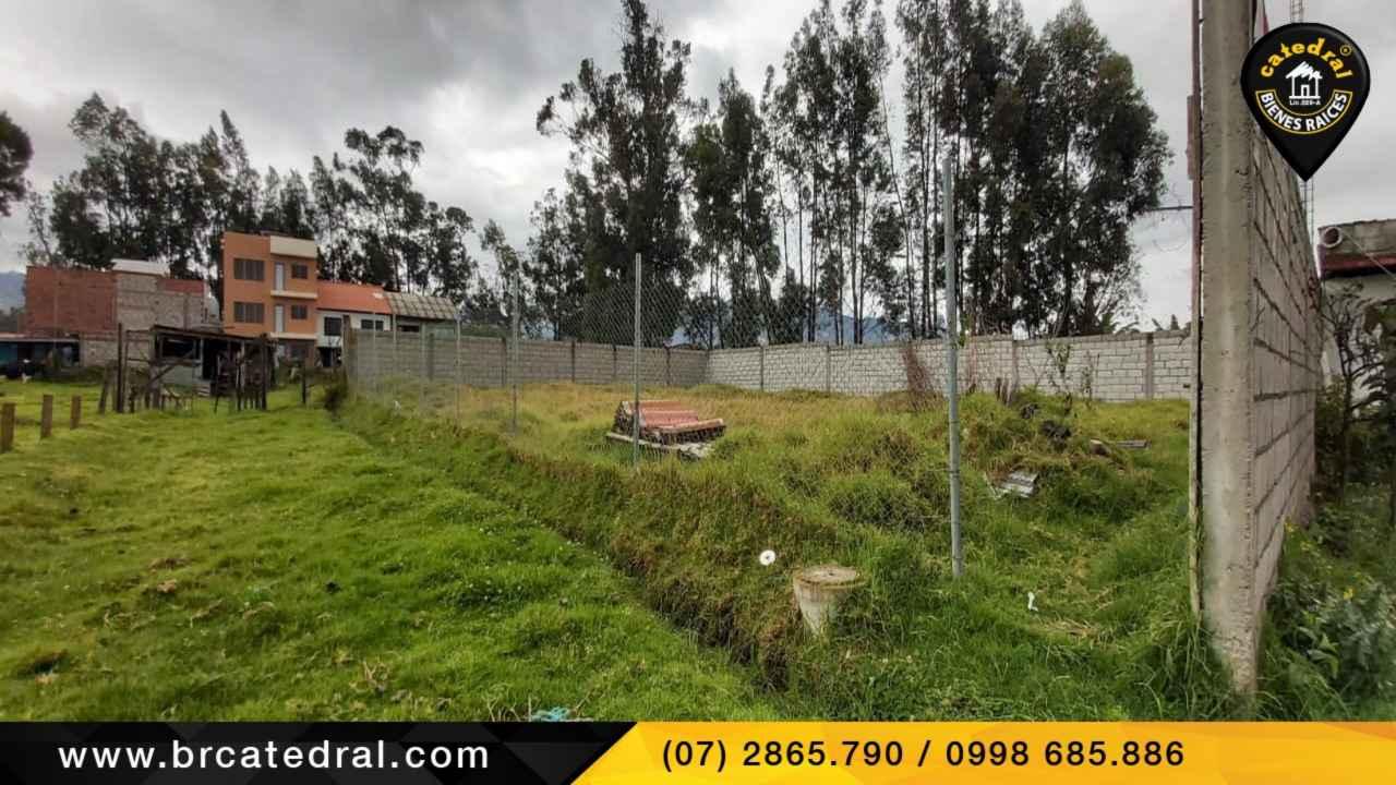 Land for Sale in Cuenca Ecuador sector Jardines de San Joaquín