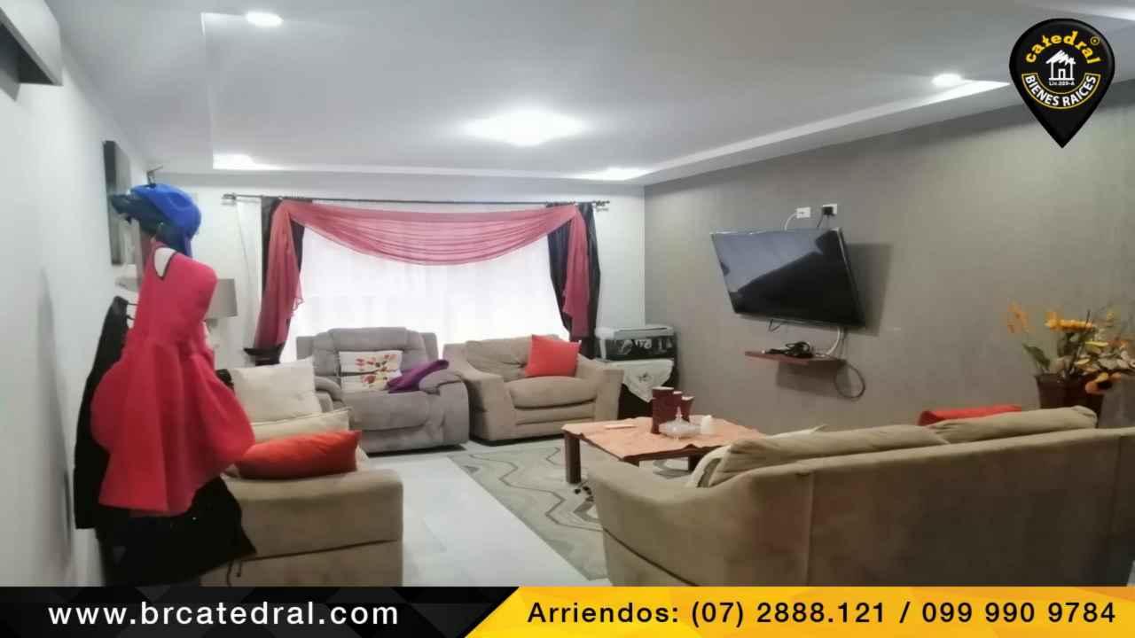 House for Rent in Cuenca Ecuador sector Ricaurte- Urbanización privada