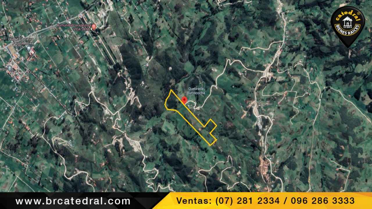 Land for Sale in Cuenca Ecuador sector Burrococha Tarqui - Chilcatotora