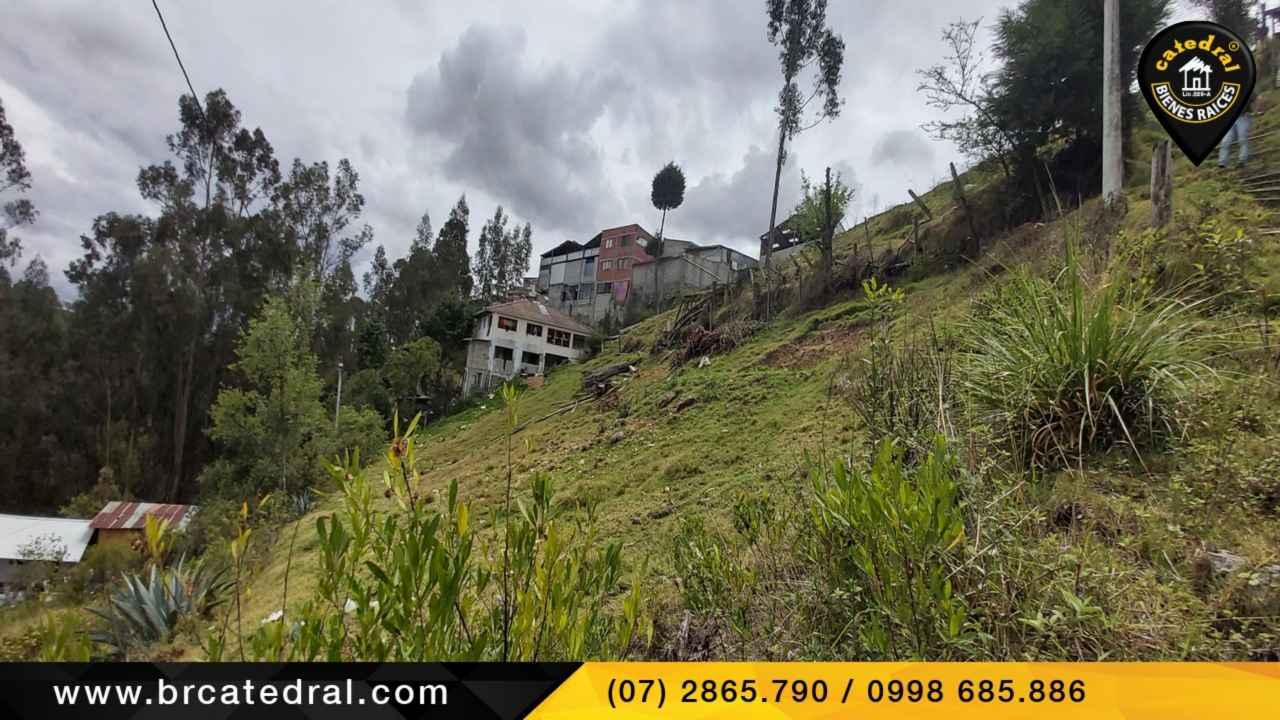 Land for Sale in Cuenca Ecuador sector Mutualista Azuay