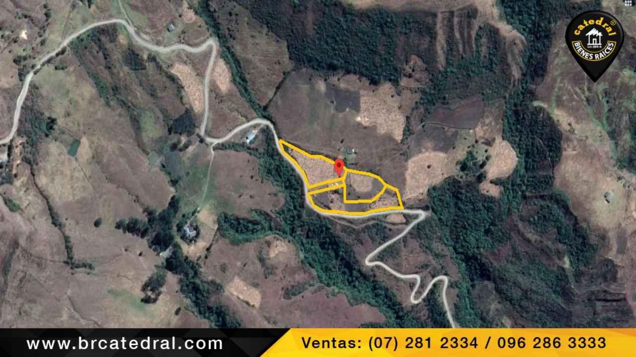 Sitio Solar Terreno de Venta en Cuenca Ecuador sector El Pongo Giron