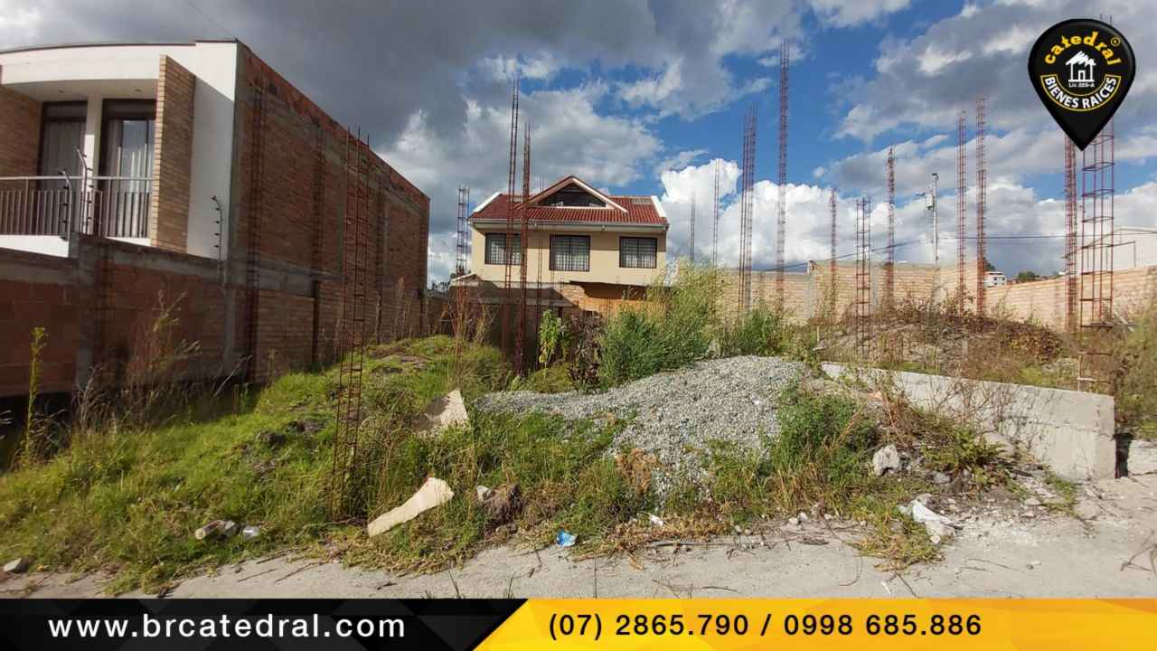 Land for Sale in Cuenca Ecuador sector S/T