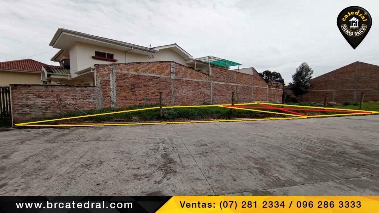 Land for Sale in Cuenca Ecuador sector Tres Puentes