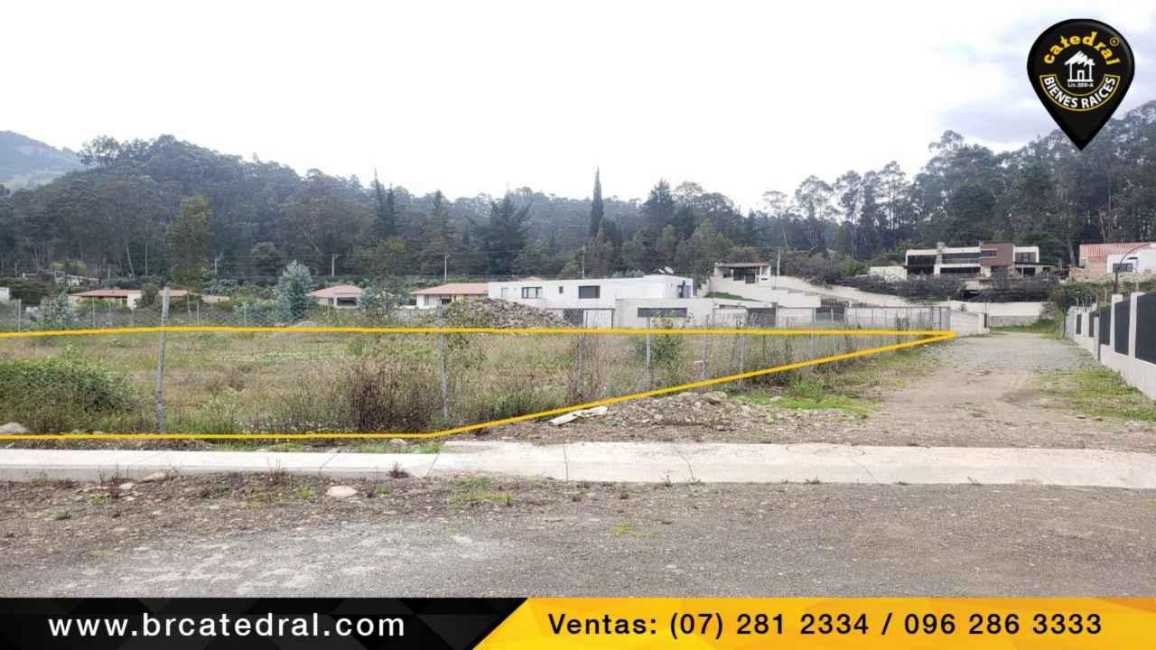 Land for Sale in Cuenca Ecuador sector San Joaquin