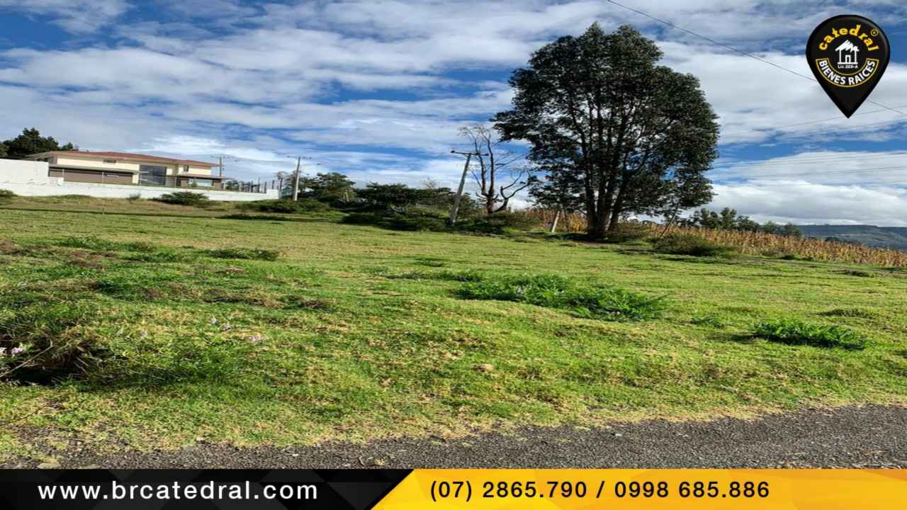 Land for Sale in Cuenca Ecuador sector Challuabamba
