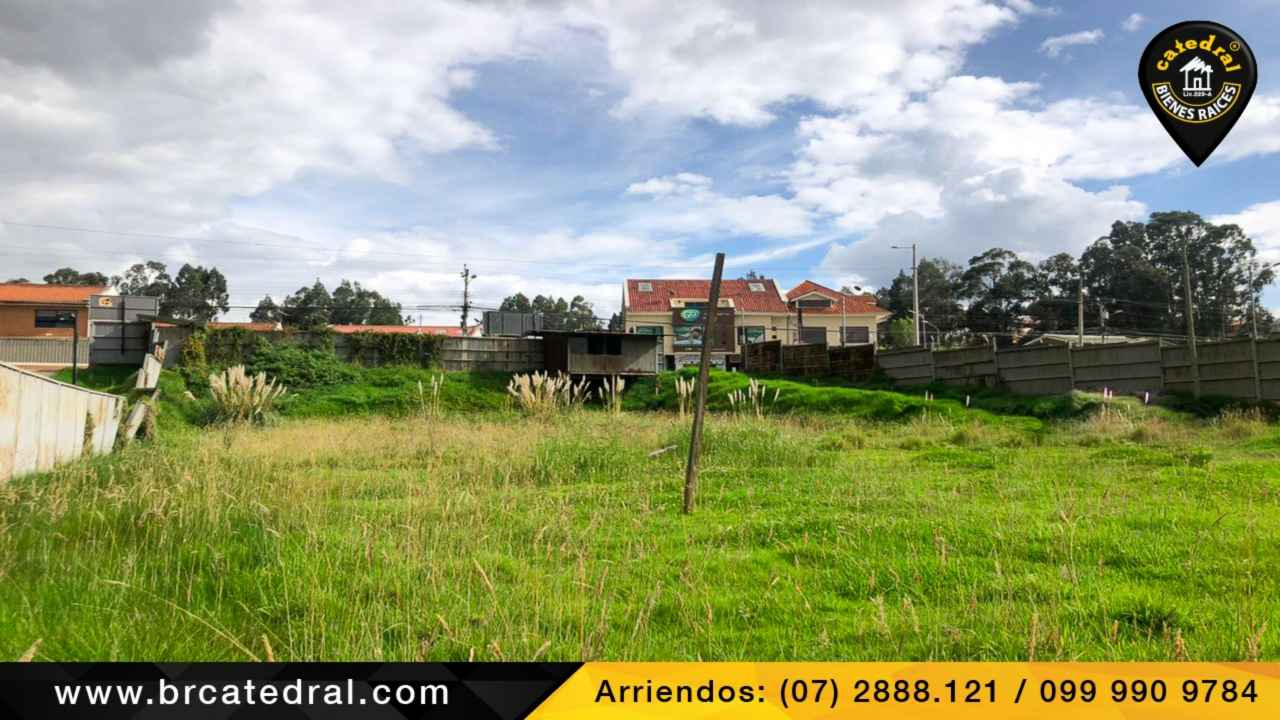 Land for Rent in Cuenca Ecuador sector Ferrotienda Camino a Misicata