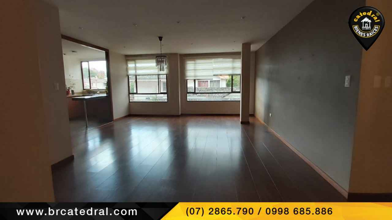 Apartment for Rent in Cuenca Ecuador sector Remigio Crespo
