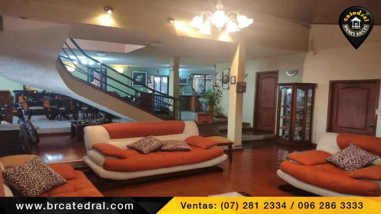 Villa Casa de Venta en Cuenca Ecuador sector Monay Baguanchi