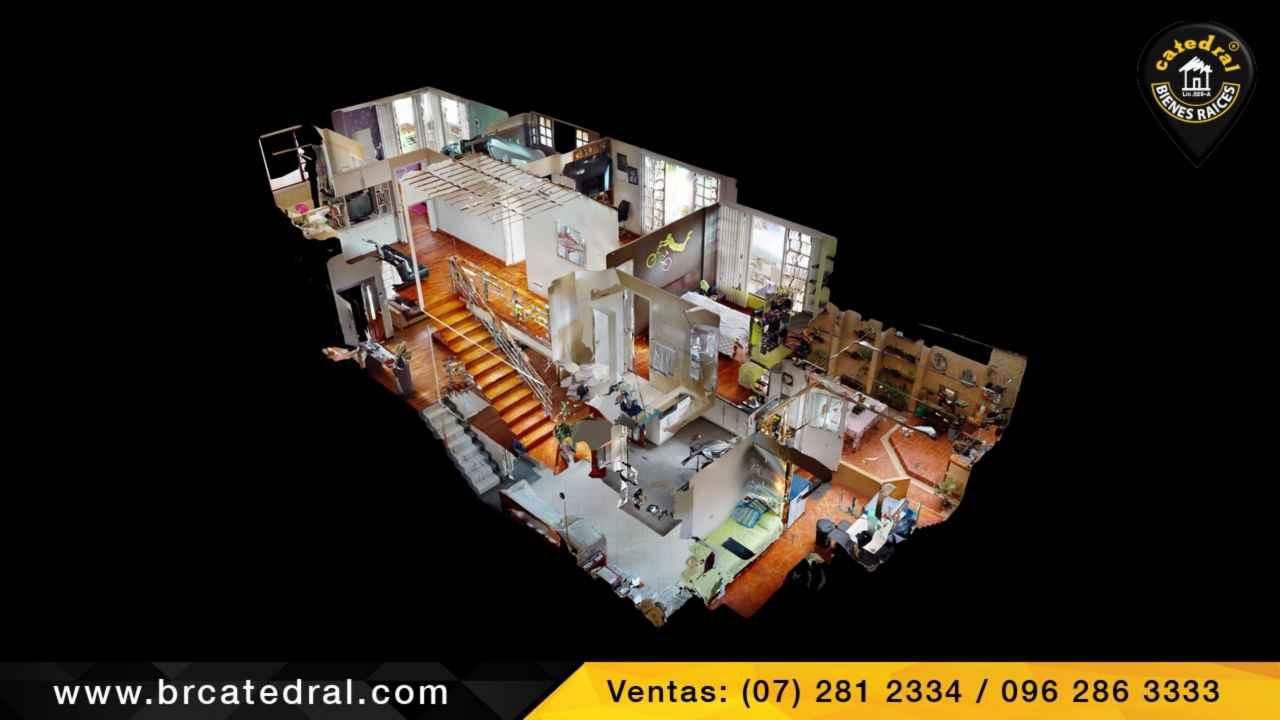 Villa Casa de Venta en Cuenca Ecuador sector Gapal-urb.privada de primera