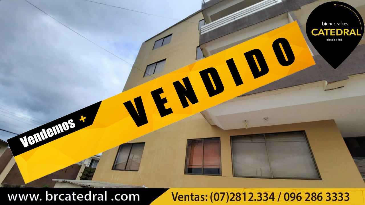 Apartment for Sale in Cuenca Ecuador sector Colegio Borja - Baños