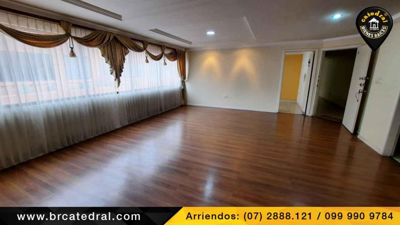 Apartment for Rent in Cuenca Ecuador sector Ordoñez Lasso