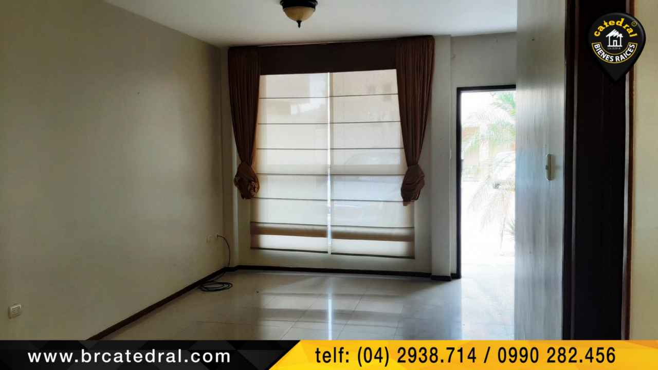 House for Rent in Guayaquil Ecuador sector Belo Horizonte