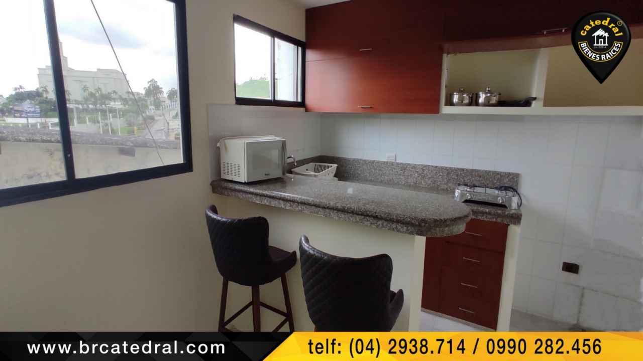 Departamento de Alquiler en Cuenca Ecuador sector Sector Ciudad Colón