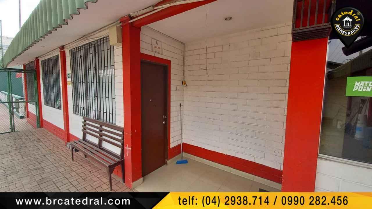 Commercial property for Sale in Guayaquil Ecuador sector ALBORADA - COMPLEJO DEPORTIVO