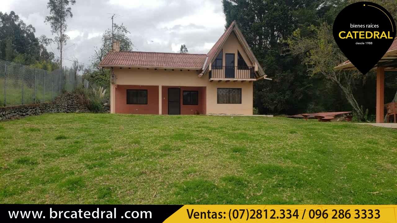 Quinta Hacienda de Venta en Cuenca Ecuador sector Ucubamba- Paccha