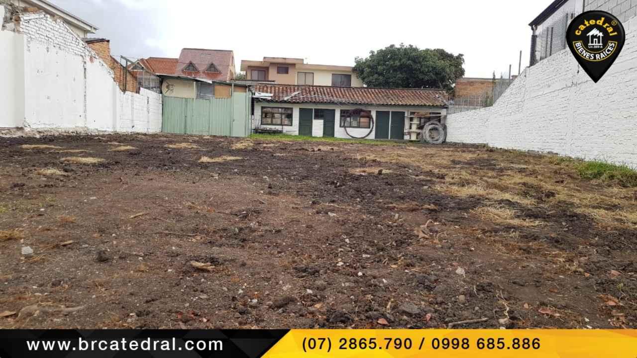 Land for Rent in Cuenca Ecuador sector Remigio Crespo