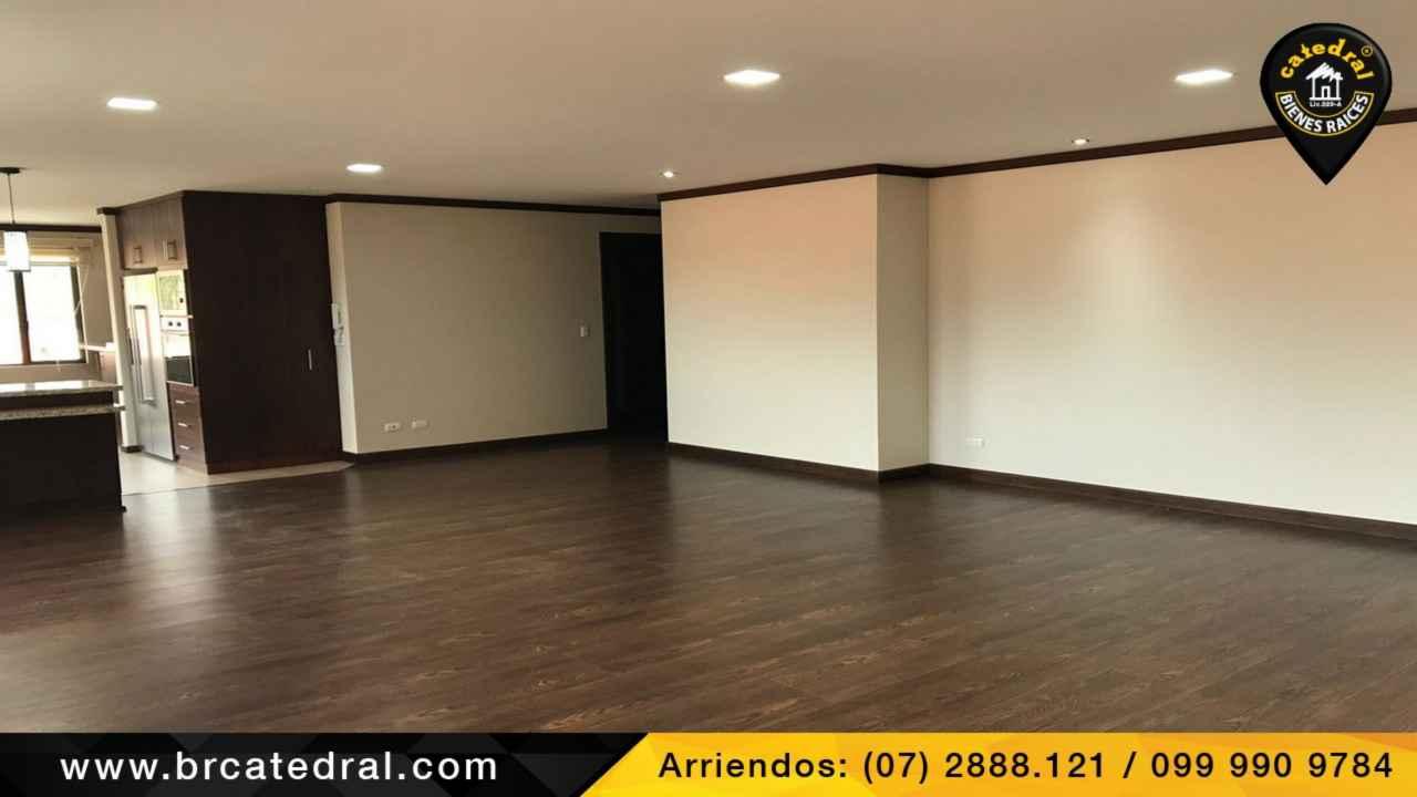 Departamento de Alquiler en Cuenca Ecuador sector Ciudadela de los Ingenieros