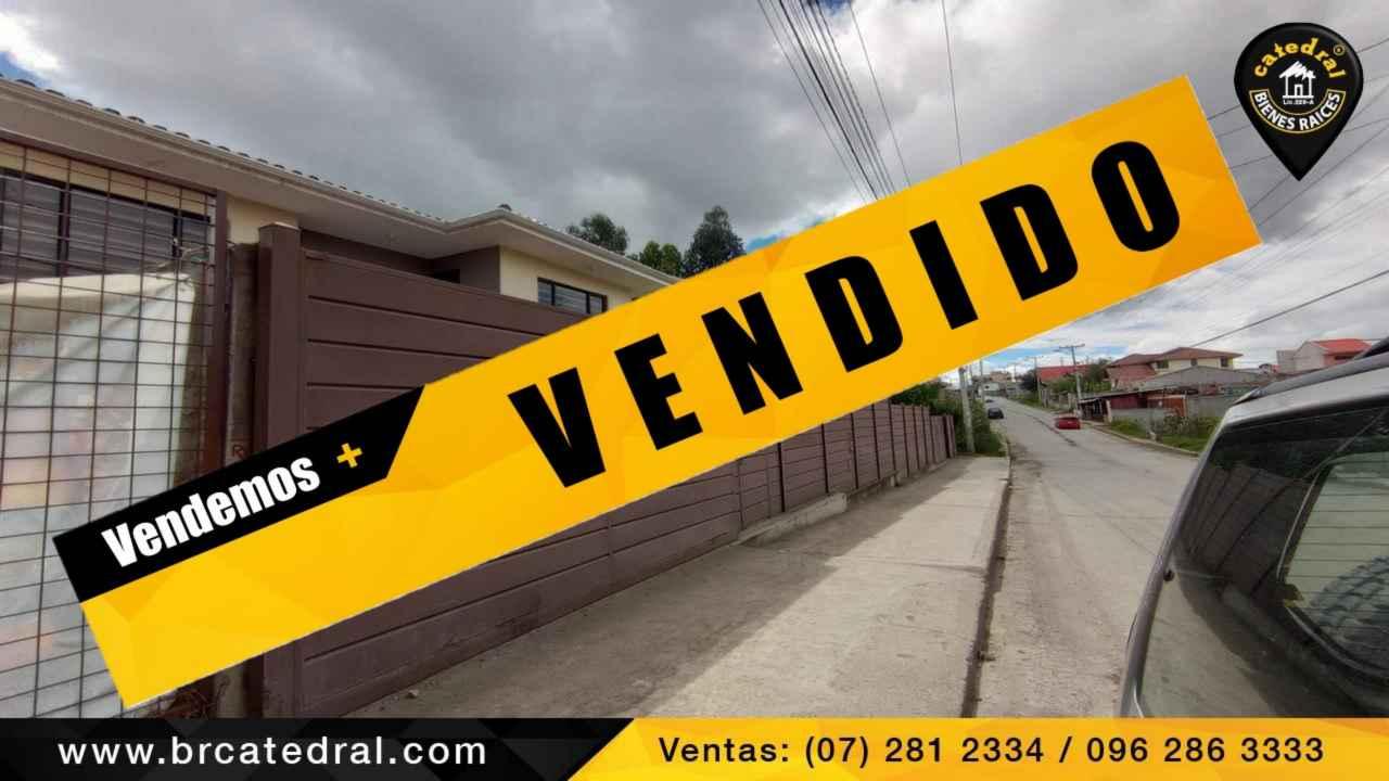 Villa Casa de Venta en Cuenca Ecuador sector Ricaurte - Cuchicarmona