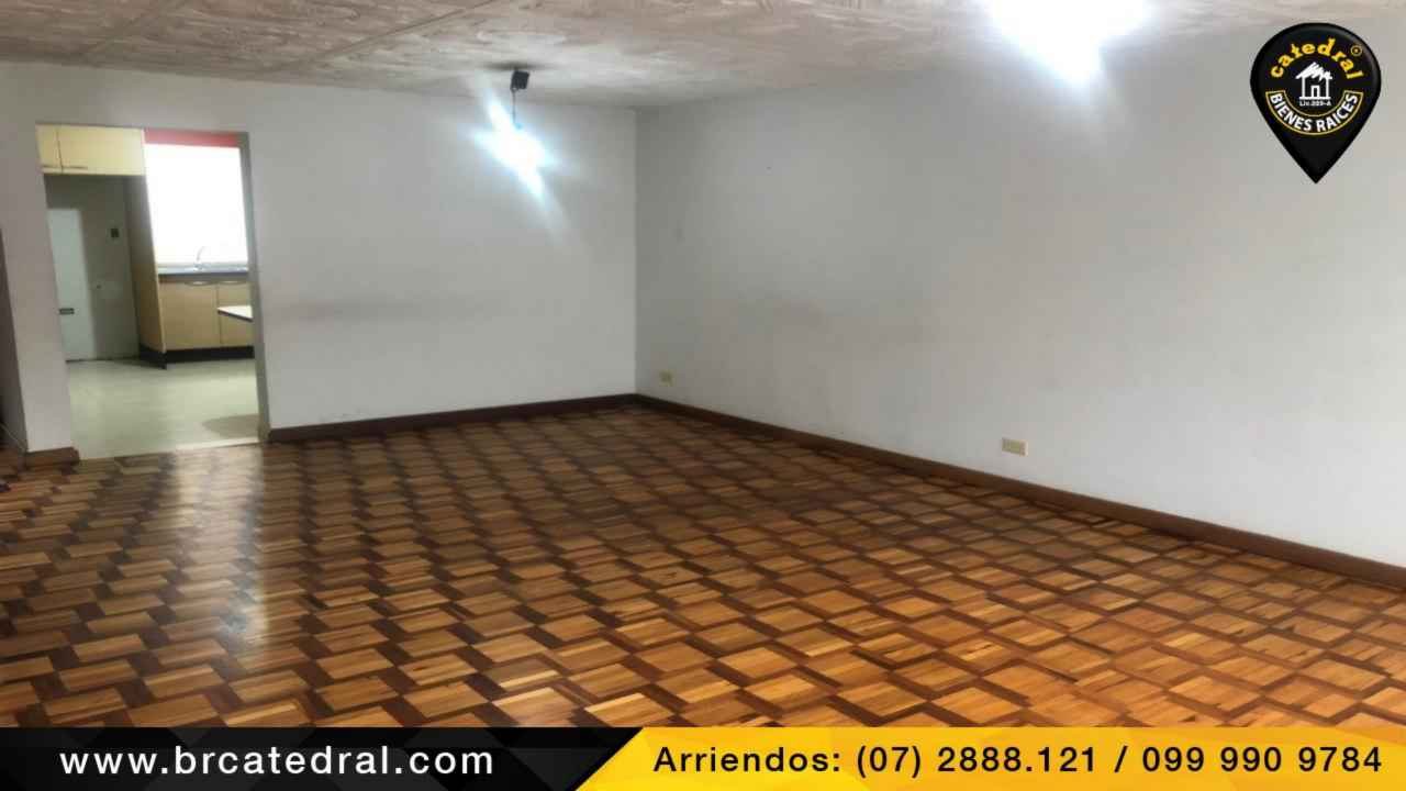 House for Rent in Cuenca Ecuador sector Isabela la Católica