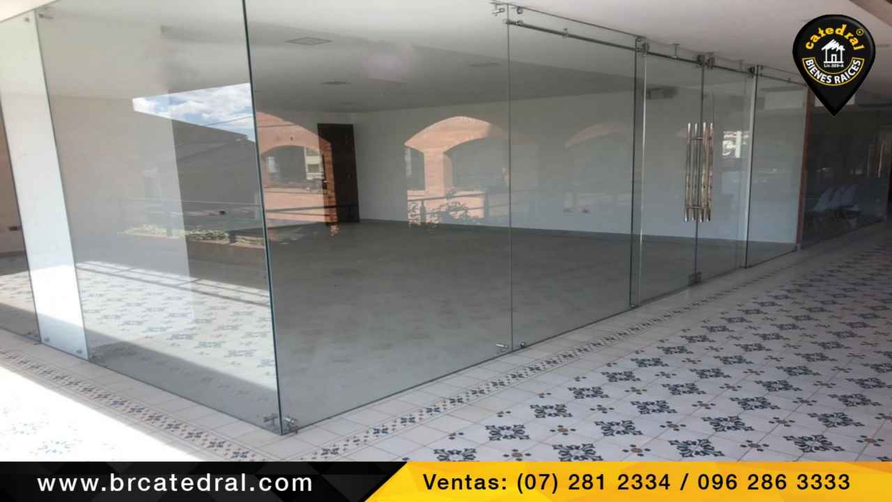 Local Comercial/Oficina/Edificio de Venta en Cuenca Ecuador sector 12 de Octubre