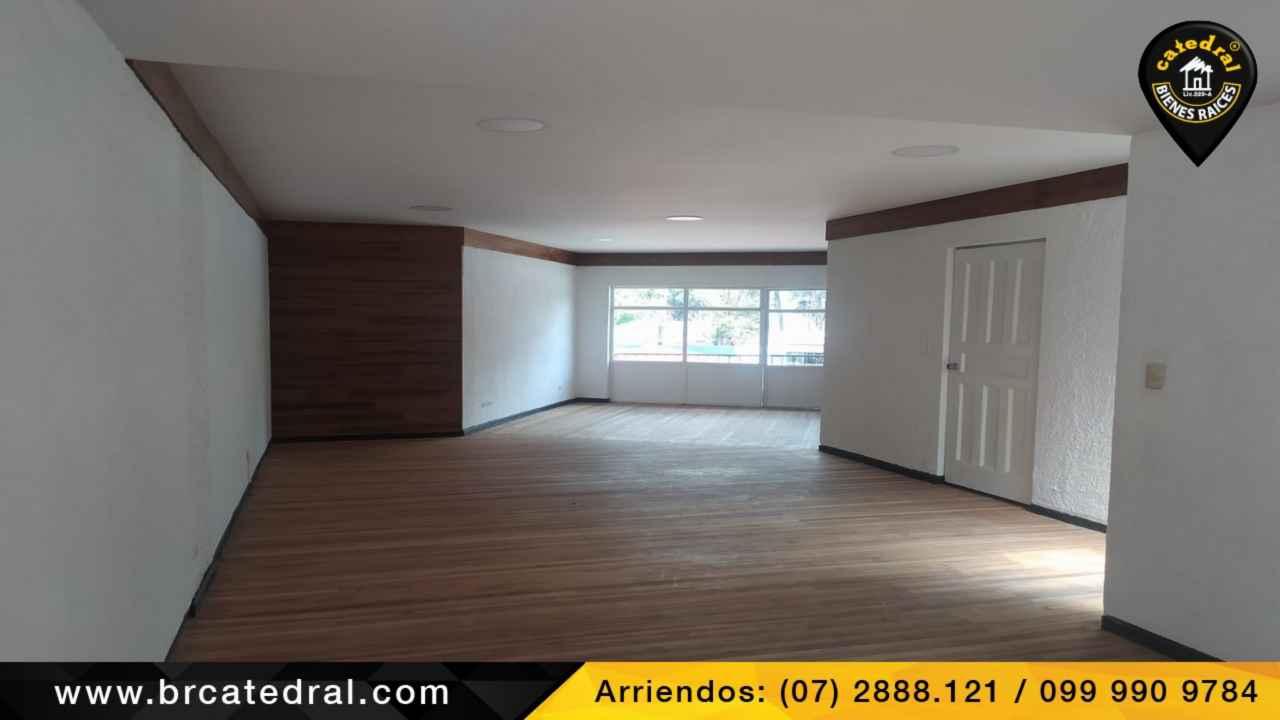 House for Rent in Cuenca Ecuador sector Zona Rosa
