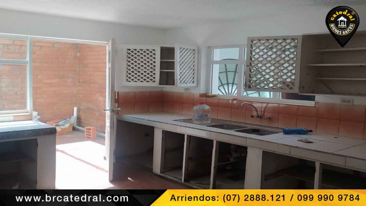 House for Rent in Cuenca Ecuador sector S/T