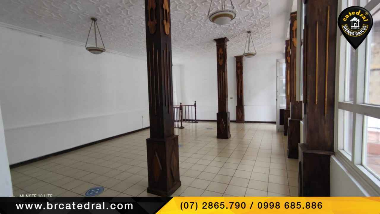 Local Comercial/Oficina/Edificio de Alquiler en Cuenca Ecuador sector Av. Loja