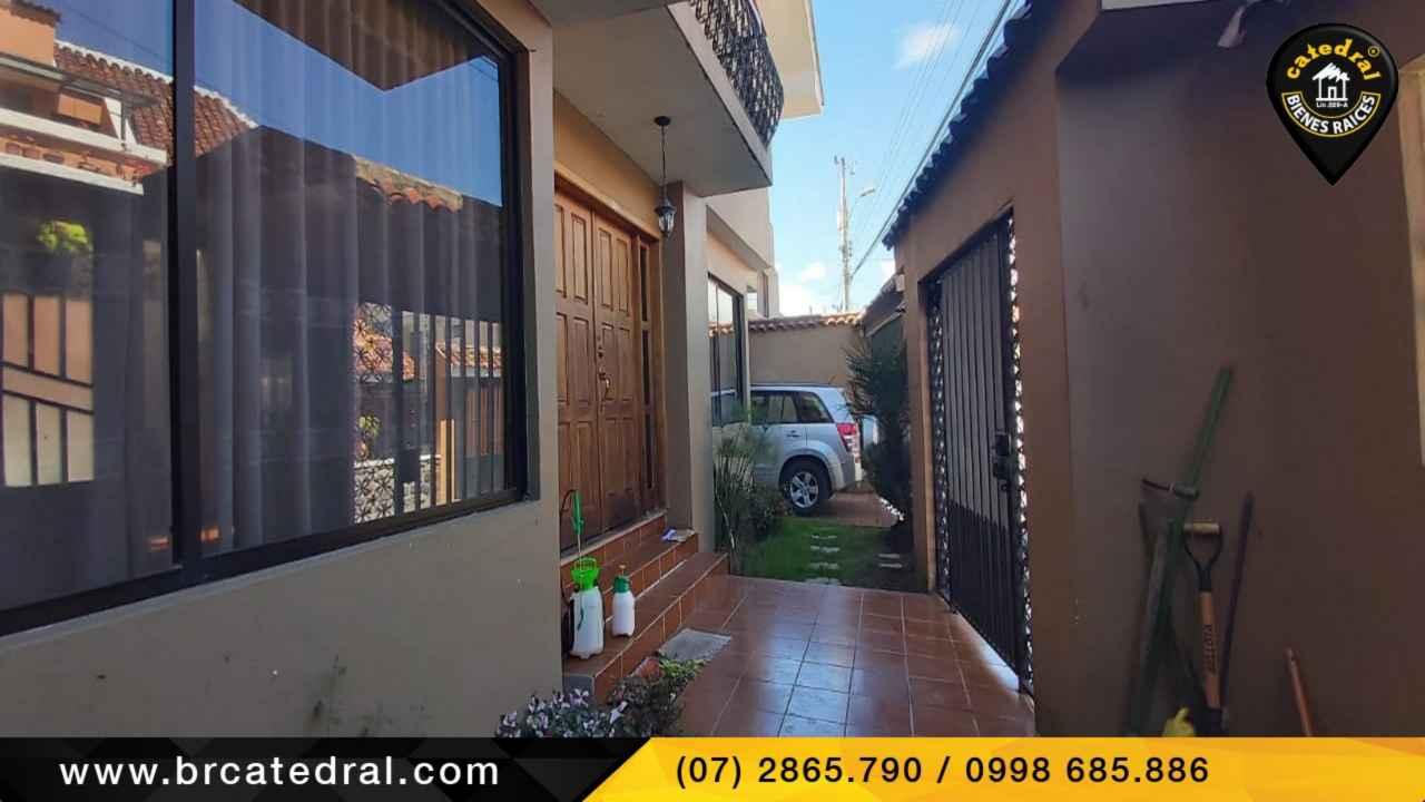 House for Sale in Cuenca Ecuador sector Coliseo-Unidad Nacional