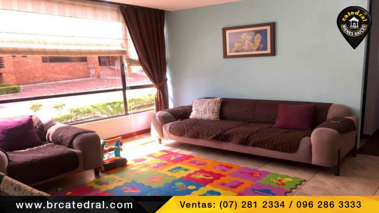 Apartment for Sale in Cuenca Ecuador sector Redondel del Iess - Gapal