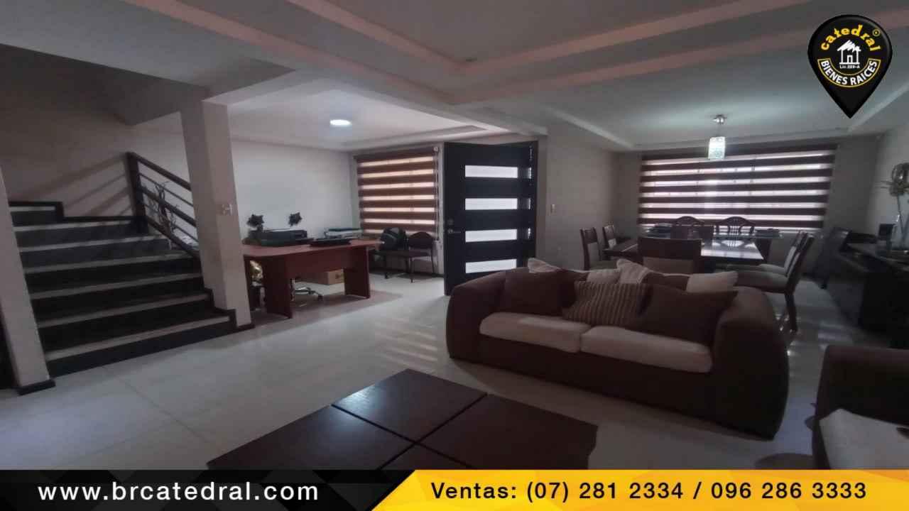 Villa Casa de Venta en Cuenca Ecuador sector Cebollar