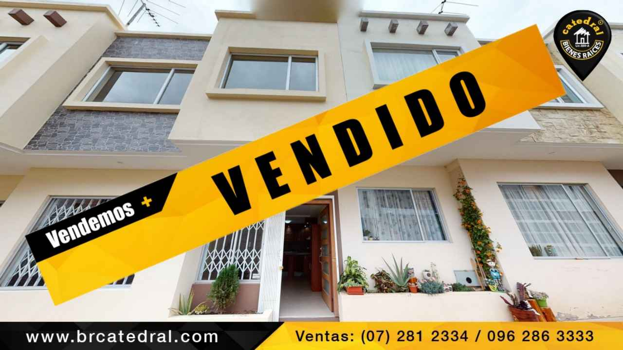 Villa Casa de Venta en Cuenca Ecuador sector Ricaurte
