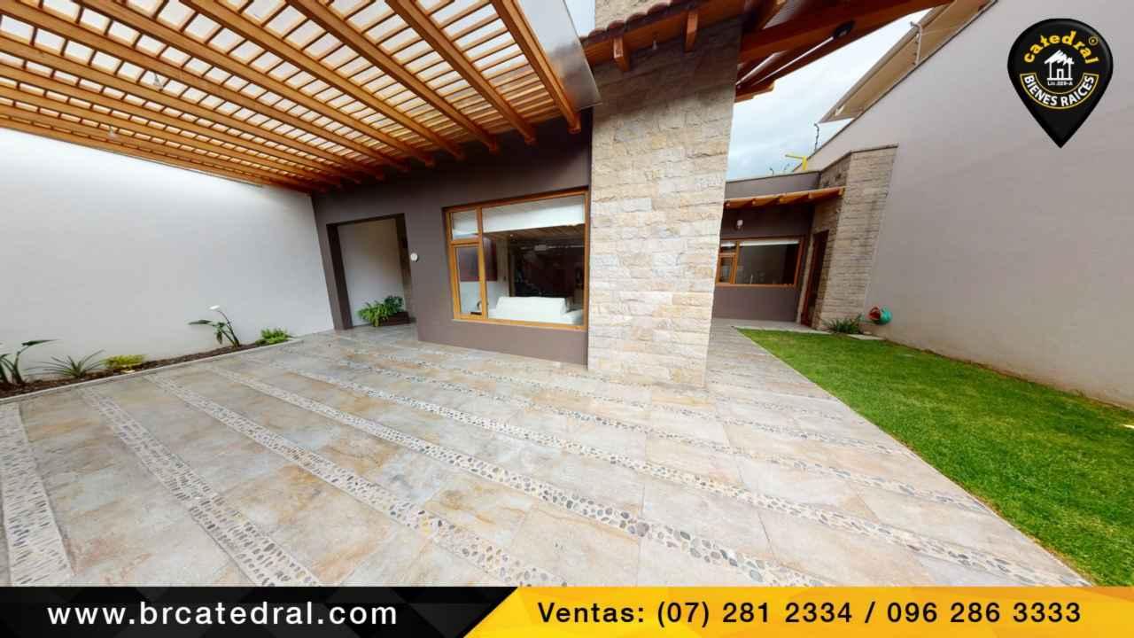 Villa Casa de Venta en Cuenca Ecuador sector Ciudadela de los ingenieros
