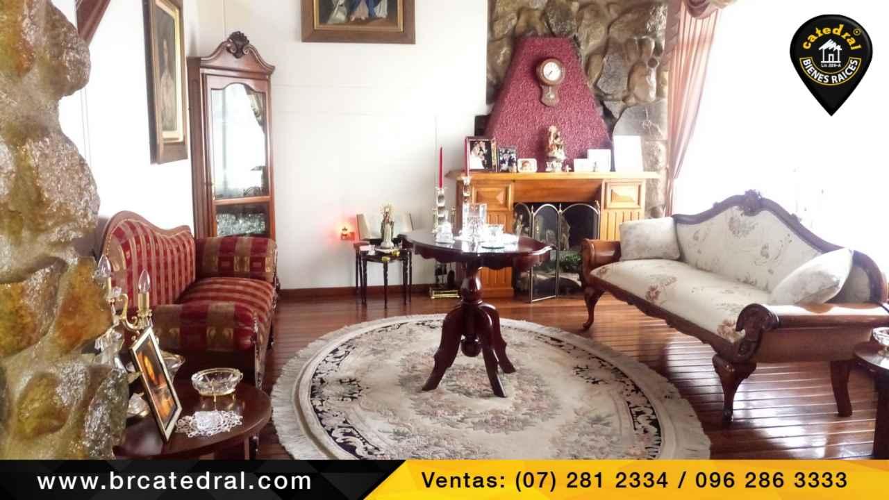 House for Sale in Cuenca Ecuador sector Urb. Los Hornos - Ordoñez Lasso