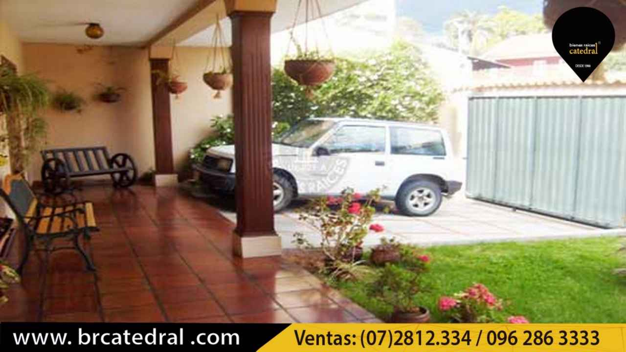 House for Sale in Cuenca Ecuador sector Hotel Oro Verde