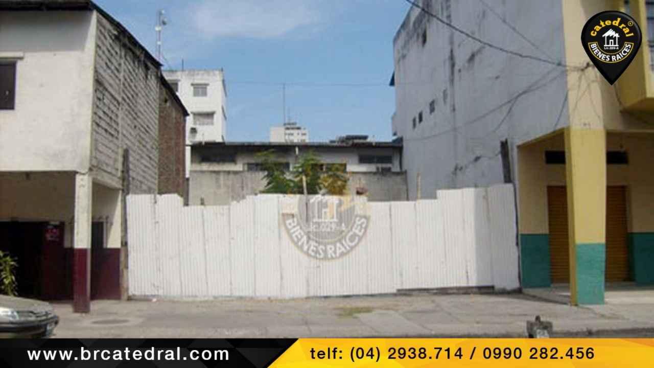 Land for Sale in Guayaquil Ecuador sector CENTRO - García Moreno - Cerca a la Nueve de Octubre